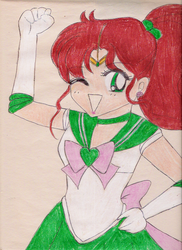 Sailor Jupiter by CaptainSpaceout