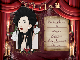 [The Penny Dreadfuls] Asako Sharpe by llawll