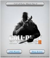 Call of Duty Black Ops II - Icon by Crussong