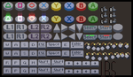 PS4, PSVita, XBOX, and Keyboard controler buttons by lenstu82