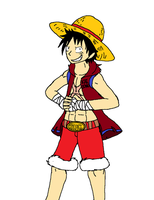 Luffy: King of the Pirates by XfangheartX