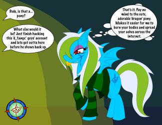 :Judgement, Thy Name Is Pony: by Dragon-FangX