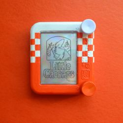 Little Ceasars Pocket Etch A Sketch by bryanetch