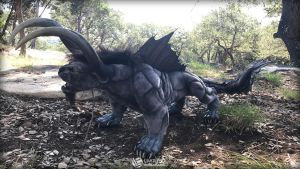 Mighty FF XV Behemoth by LimitlessEndeavours