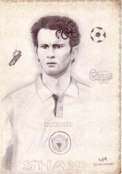 Ryan Giggs by RedHoodWinked