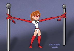 Kim Possible As Elastigirl by stavros1972