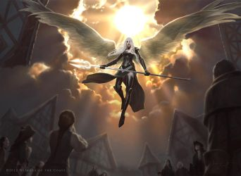 Mtg Avacyn by JasonChanArt