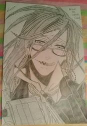 Black butler~ Grell Sutcliff by PerpetualPeep