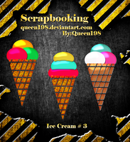 scrapbook Ice Cream by queen198