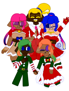 Merry Squidmas by pikathelover