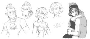Redesigning Duncan And Gwen by MyFantasiWorld