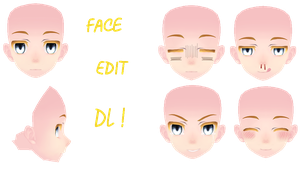 Tda Face Edit // Dl // by-MosterNight-MMD by MosterNighT-MMD