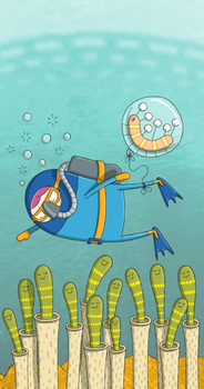 Scuba Diving by moopf