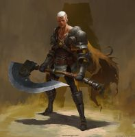 Character Design For My Comic Book_Second by DongjunLu