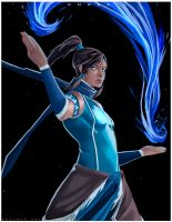 Fan Art Korra by GuD0c