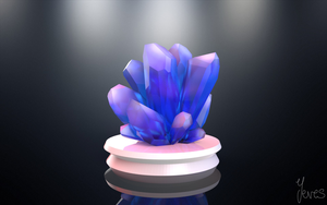 3D Crystals by Yeves