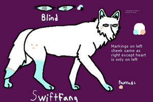 Swiftfang- New Design and New Official Ref 2012 by DoubleTroubleWolves