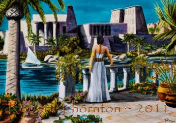 Temple of Isis by Haydaad