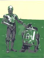 These Aren't the Droids You're Looking For by wandering-pen
