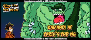 AT4W: Kamandi at Earth's End #6 by DrCrafty