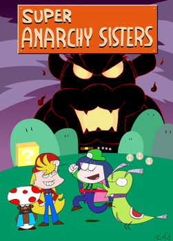 Super Anarchy Sisters by NikoAnesti
