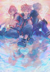 Kingdom Hearts 3 - Destiny Trio by Miyukiko