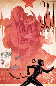 Catwoman 67 by AdamHughes