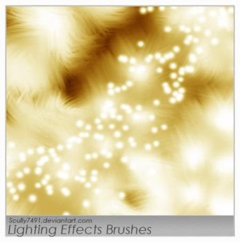Lighting Effects Brushes by Scully7491