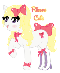 Ribbon Chic by mrpiddles