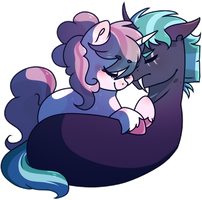 [AT] Cuddles by DannyMoMochi