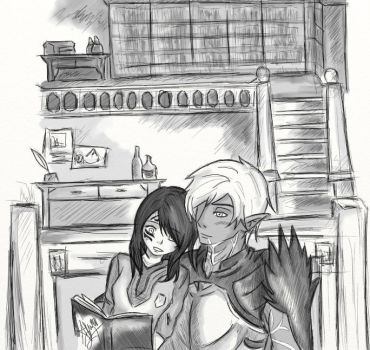 DA2:I love you when read to me by Ainwen27