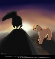 Simba Coming Home by Juffs