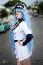 Esdeath Cosplay by BlondieeGaming