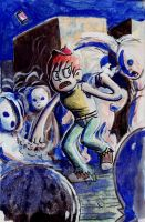 Nightmares of Ghost Friends by rayne-gallows