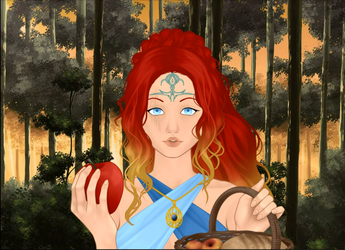 W.I.T.C.H OC Mayahla - a sorcerer from Meridian by HeartStorm4ever