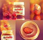 Nutella and strawberry by tt2008