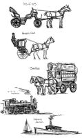 Continentals - Transportation by amberchrome