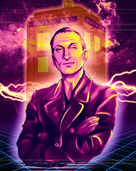 Doctor Who - Christopher Eccleston by Kachumi