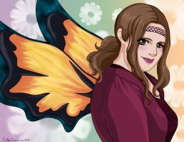 Penney's Fairy Anime Portrait Colored by EmilyCammisa