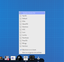Plank-Themer: Change your Plank Theme!, in1 click. by rhoconlinux