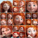 Merida icons by PrincessMeridaFan
