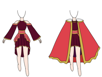 Possible Cosplay Design? by Sami-Fire