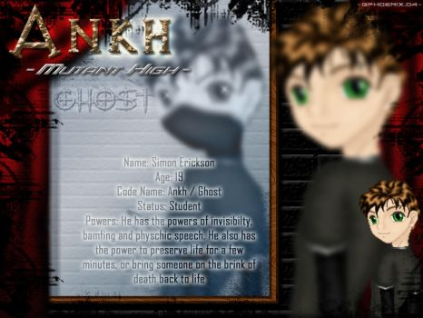 Ankh - Ghost Wallpaper by GPhoenix