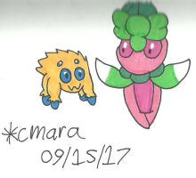 Joltik and Fomantis