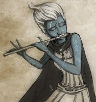 Air Genasi Bard - Skeeter Pan by Narthyxa