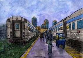 Vancouver, Pacific end of the line. by Vokabre