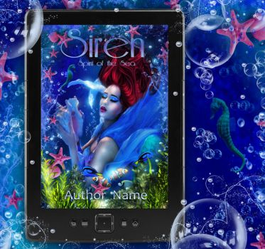 Ebook Cover Tablet  Siren Card by Sinphie