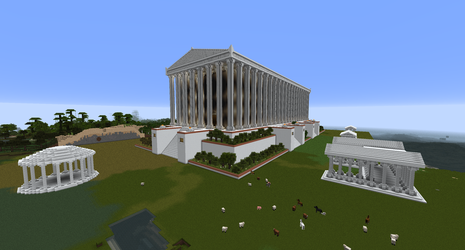 Minecraft - Temple of Artemis Redone by MinecraftArchitect90