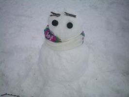 England the Snowman by TheWolfGirl15