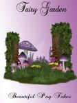 Fairy Garden Png by kayshalady